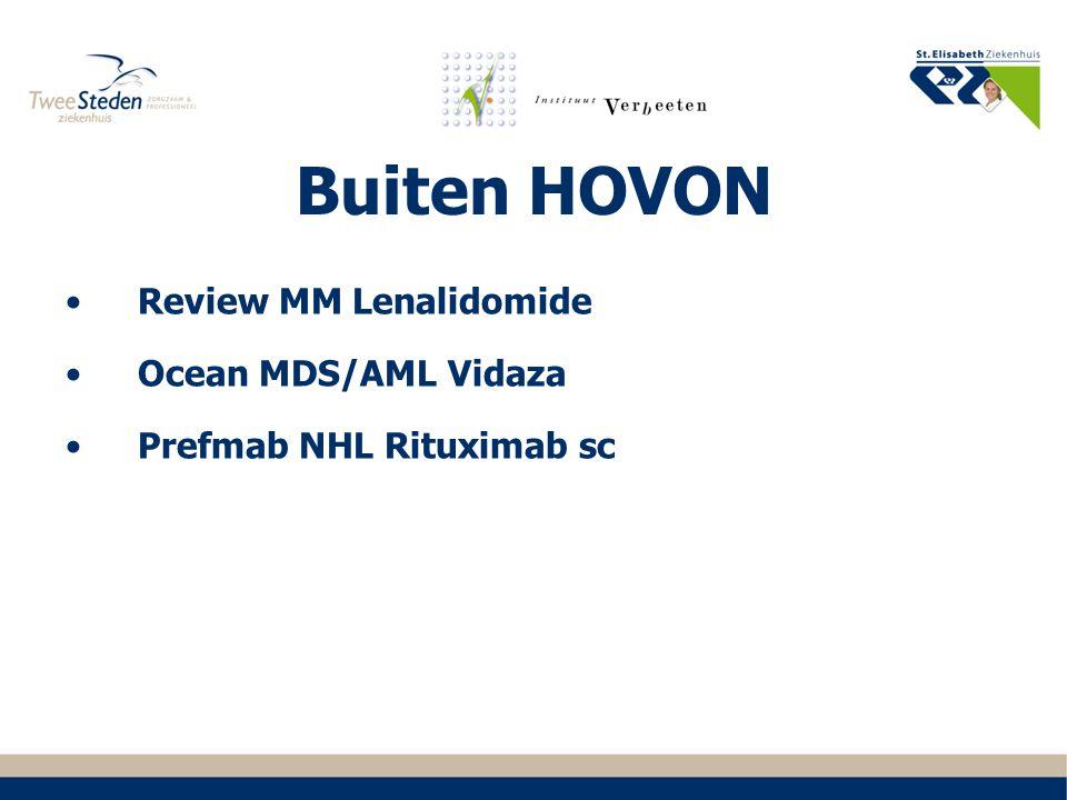 Buiten HOVON Review MM Lenalidomide Ocean MDS/AML Vidaza