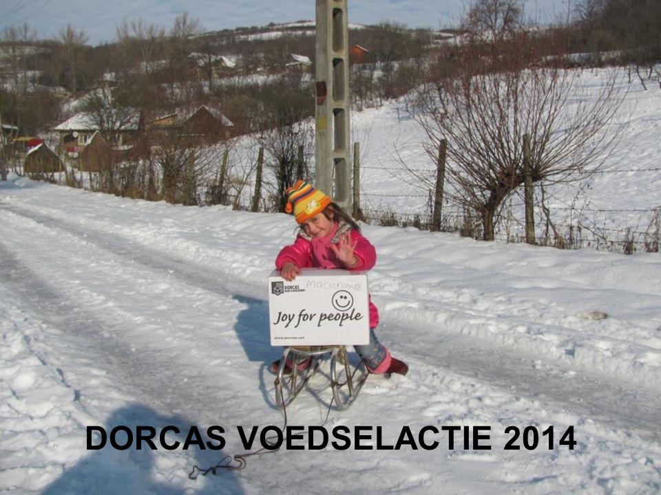 DORCAS VOEDSELACTIE 2014
