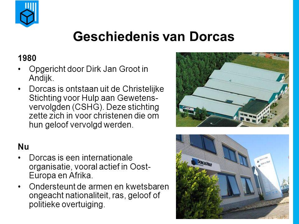 Geschiedenis van Dorcas