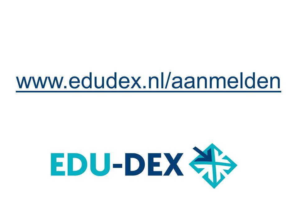 NRTO Ledendag - 30 juni 2014 www.edudex.nl/aanmelden