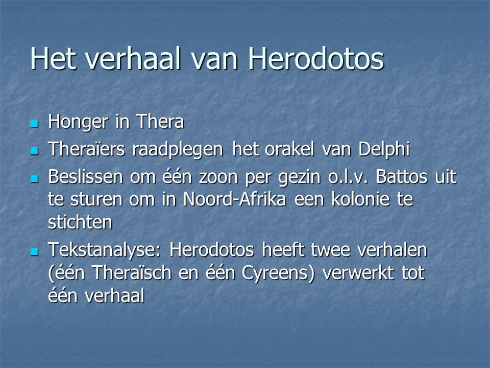 Het verhaal van Herodotos