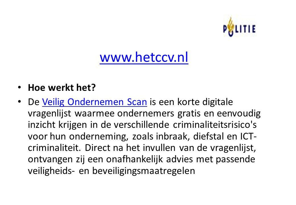 www.hetccv.nl Hoe werkt het