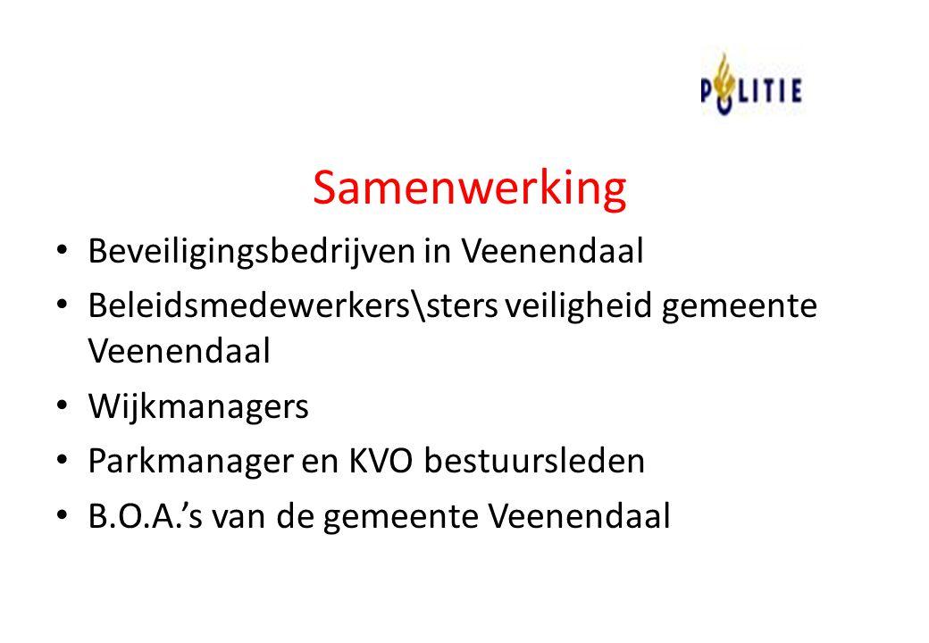 Samenwerking Beveiligingsbedrijven in Veenendaal