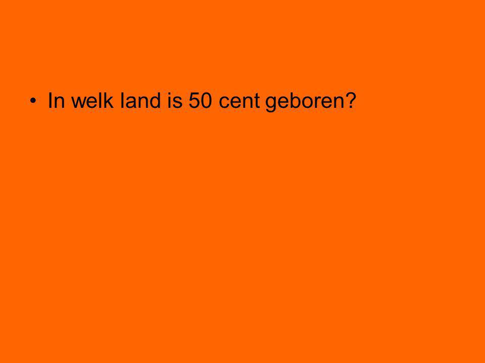 In welk land is 50 cent geboren