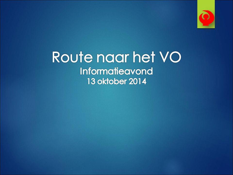 Informatieavond 13 oktober 2014