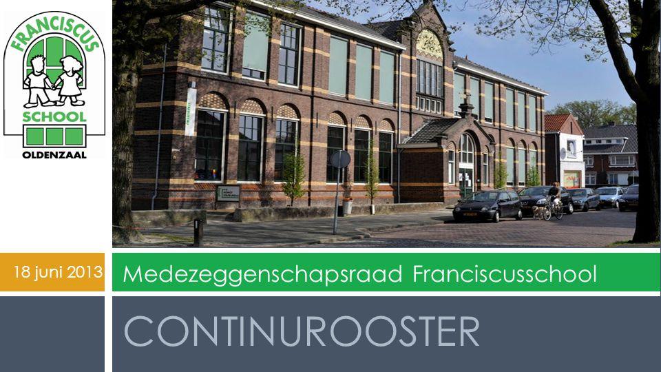 Medezeggenschapsraad Franciscusschool