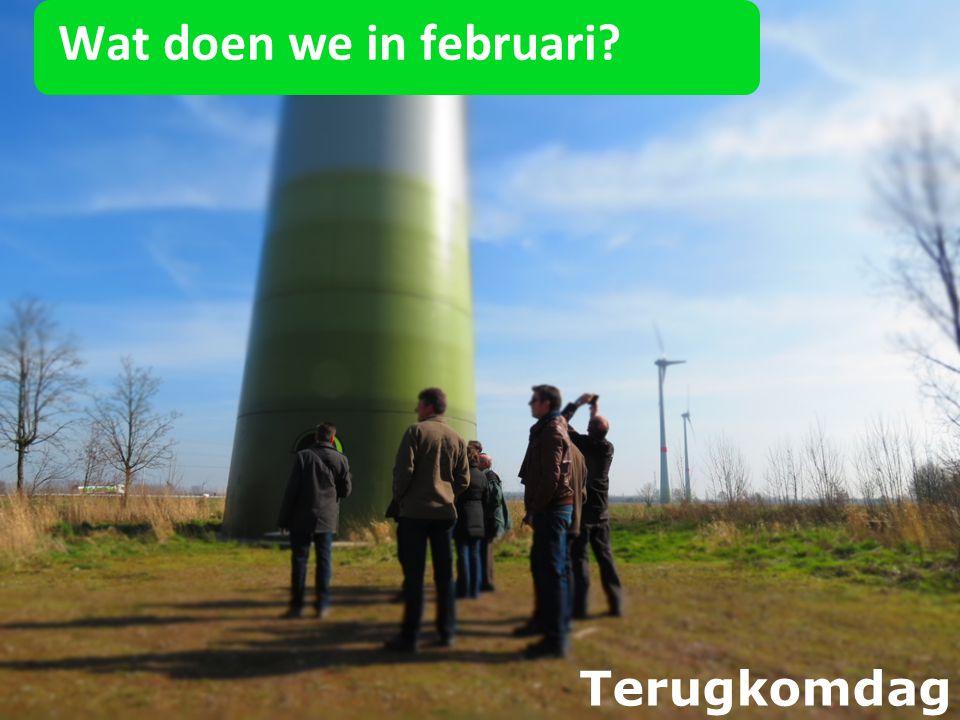 Wat doen we in februari Terugkomdag 26