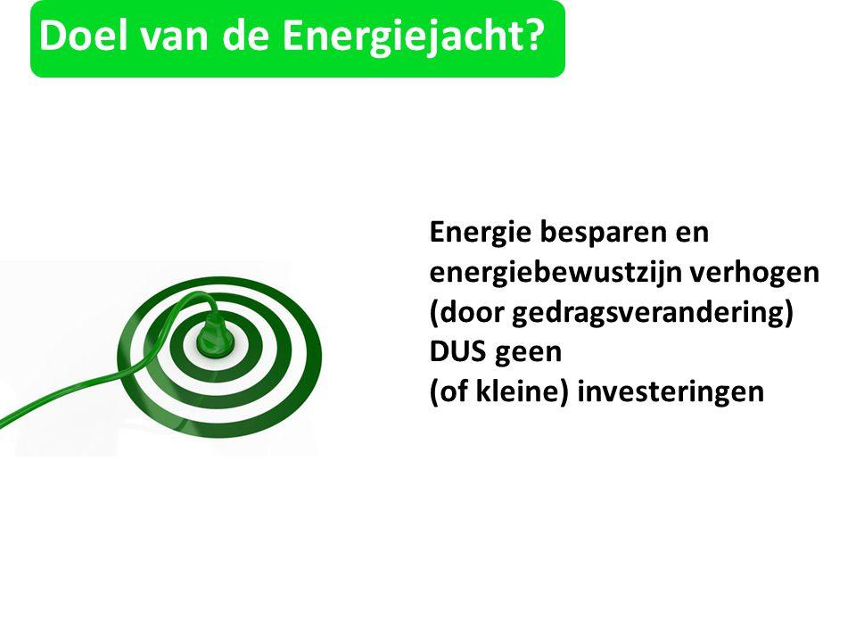 Doel van de Energiejacht