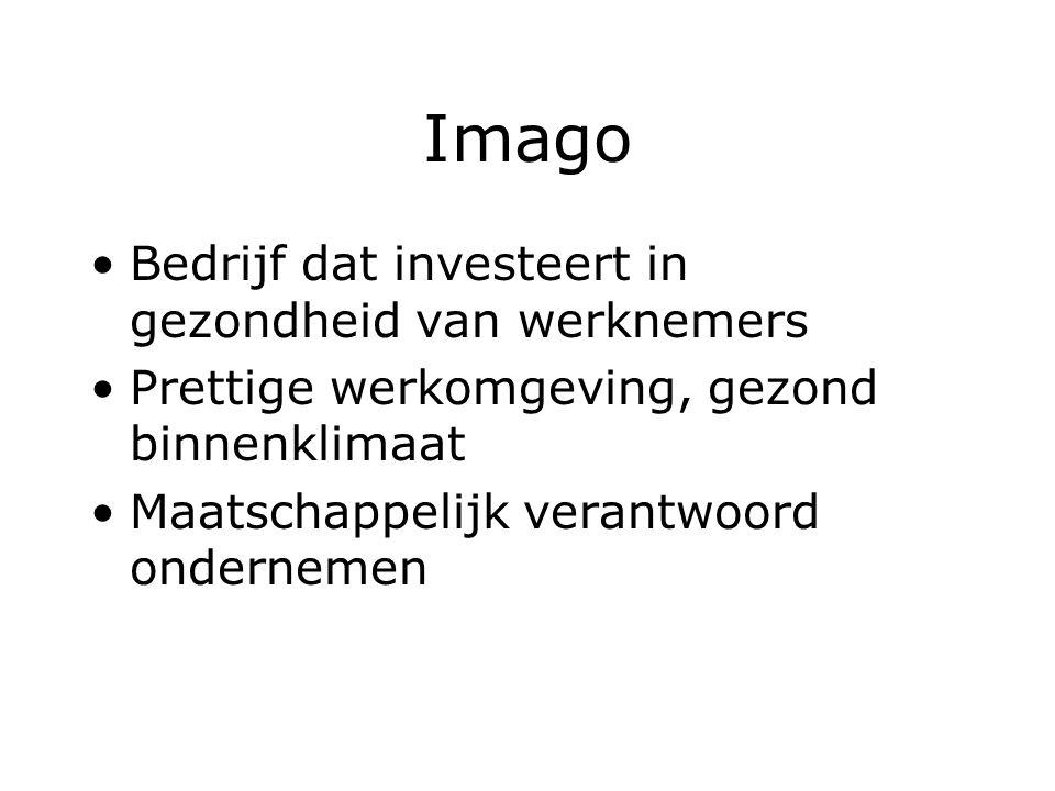 Imago Bedrijf dat investeert in gezondheid van werknemers