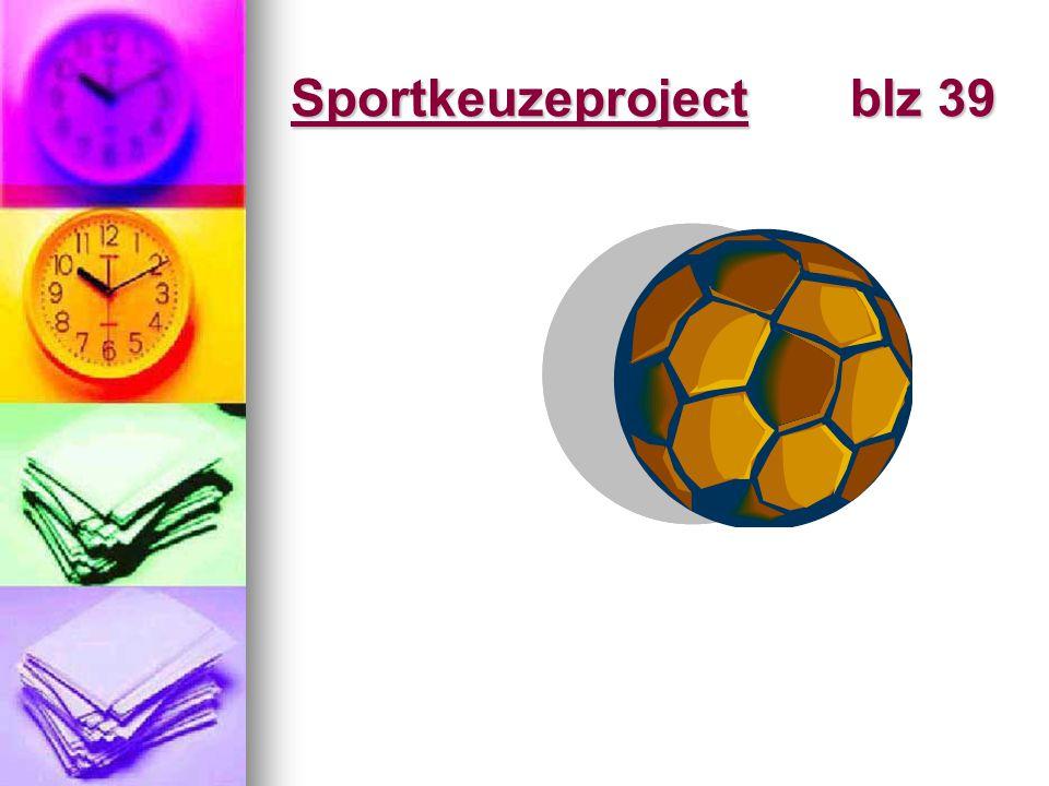 Sportkeuzeproject blz 39