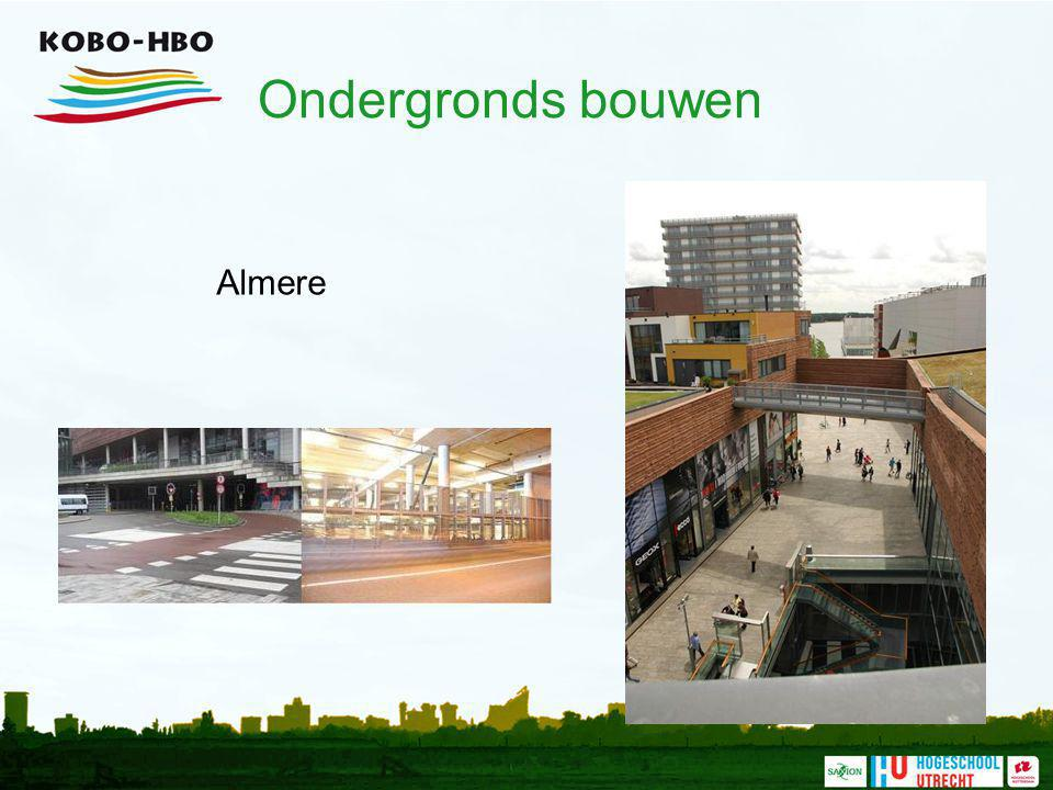 Ondergronds bouwen Almere Omschrijving project