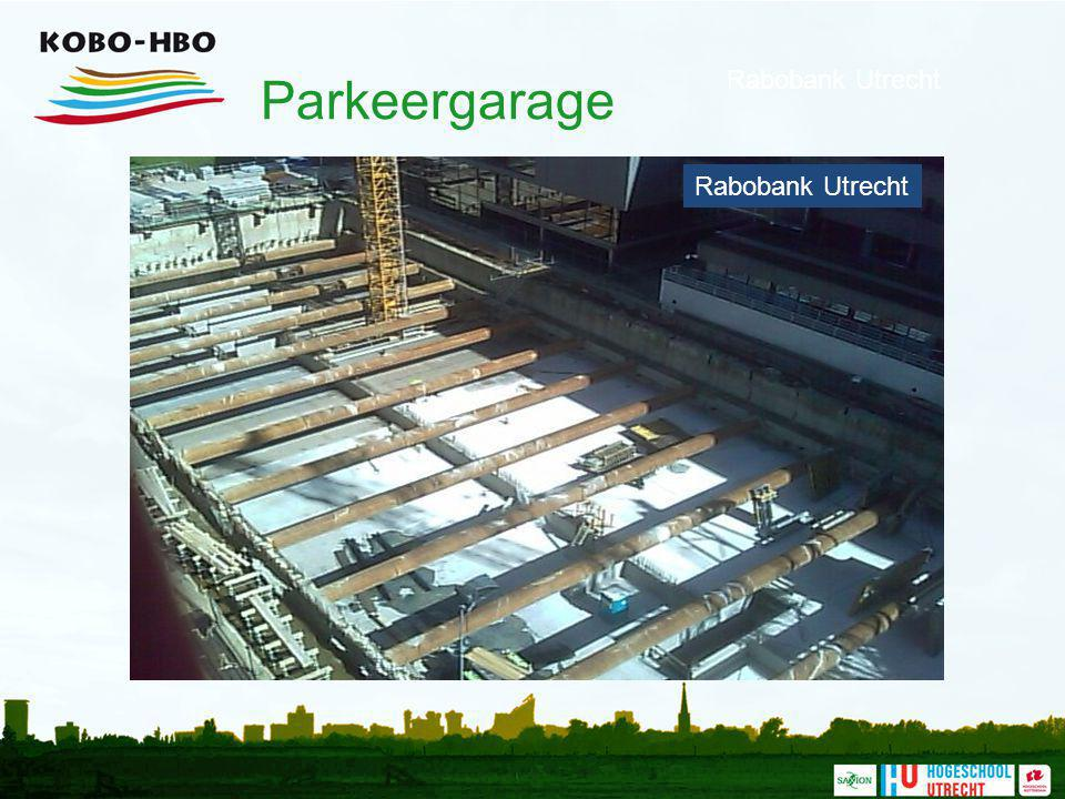Parkeergarage Rabobank Utrecht Rabobank Utrecht