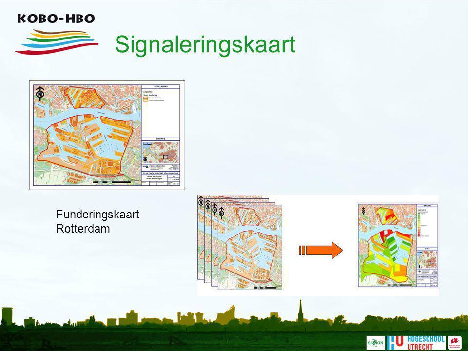 Signaleringskaart Funderingskaart Rotterdam