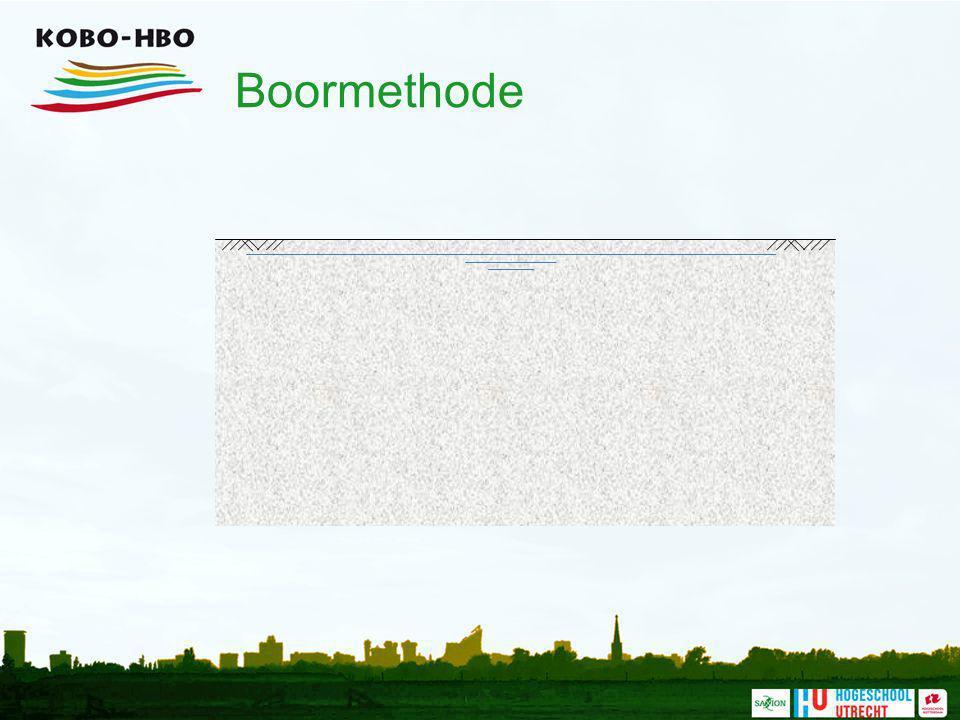 Boormethode Het boren van een tunnel heeft in eerste instantie een geringere aanslag op de omgeving.