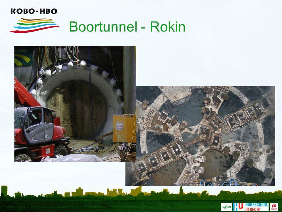 Boortunnel - Rokin De boorkoop. Foto: R. Kuijten, Grontmij