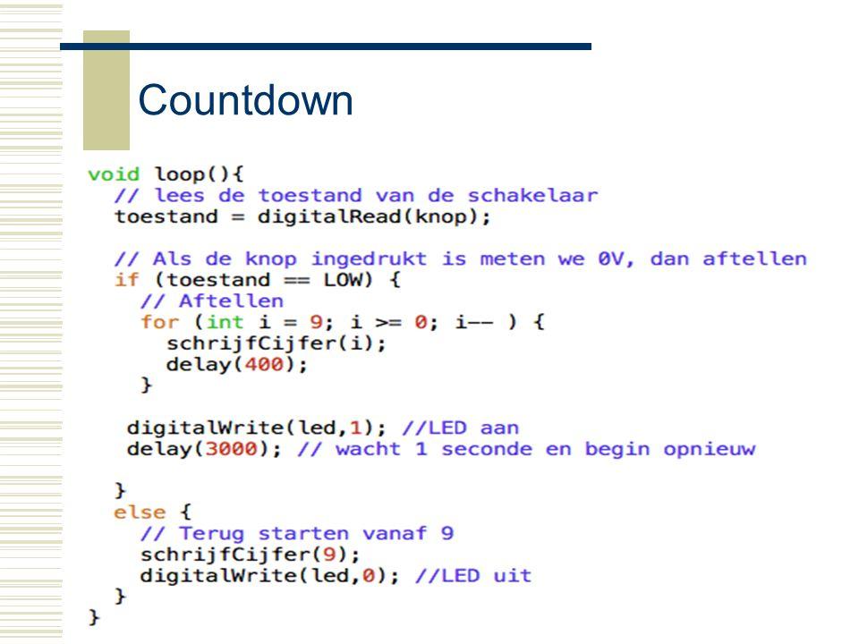 Countdown Arduino