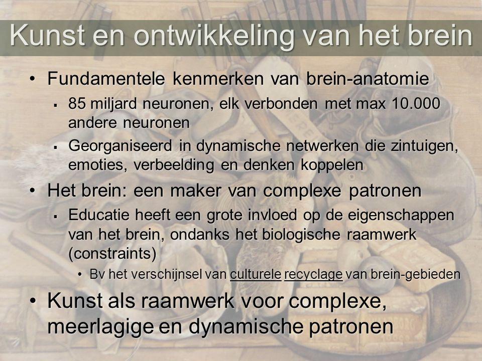 Kunst en ontwikkeling van het brein