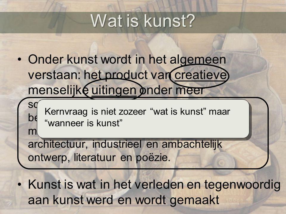 Wat is kunst