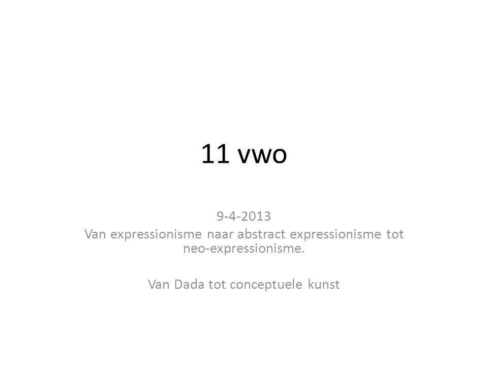 Van Dada tot conceptuele kunst