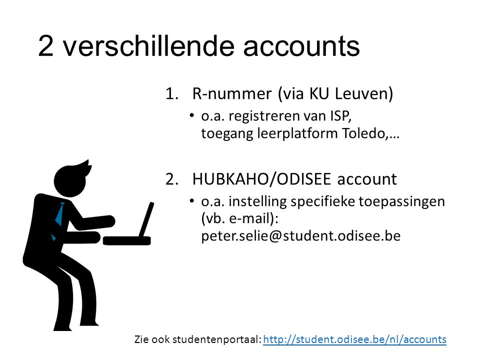 2 verschillende accounts