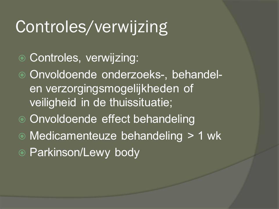 Controles/verwijzing
