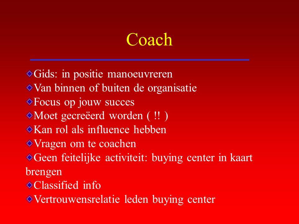 Coach Gids: in positie manoeuvreren