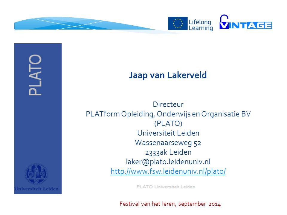 Jaap van Lakerveld Directeur