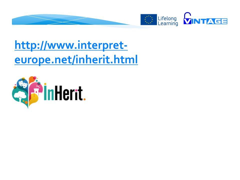 http://www.interpret-europe.net/inherit.html