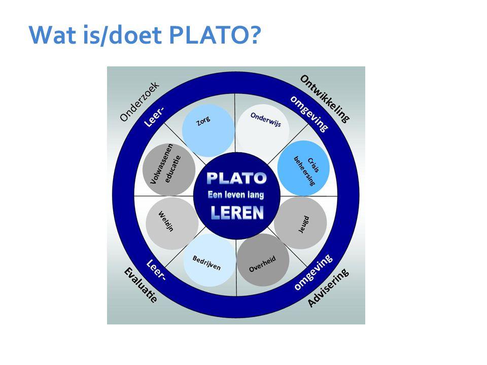 Wat is/doet PLATO