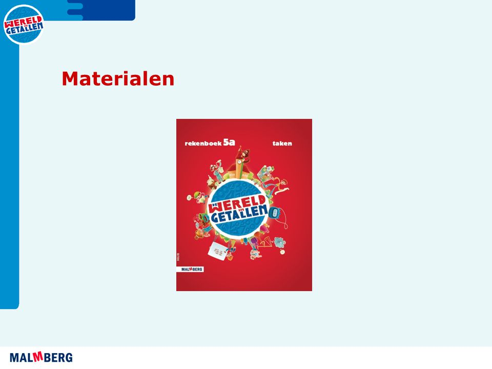 Materialen Omkeerboek