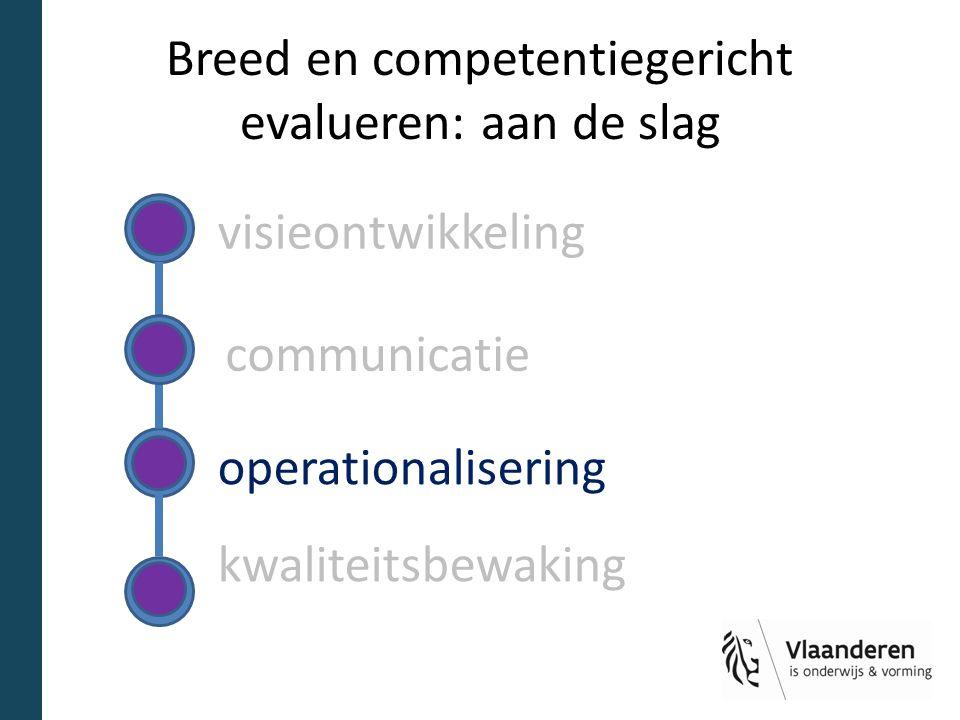 Breed en competentiegericht evalueren: aan de slag