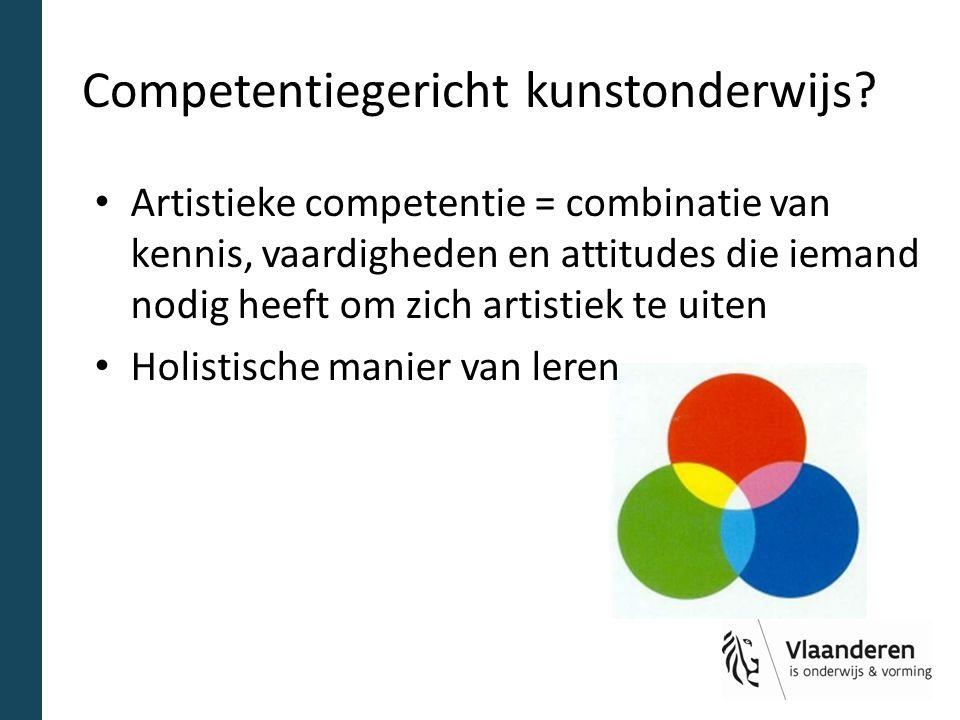 Competentiegericht kunstonderwijs