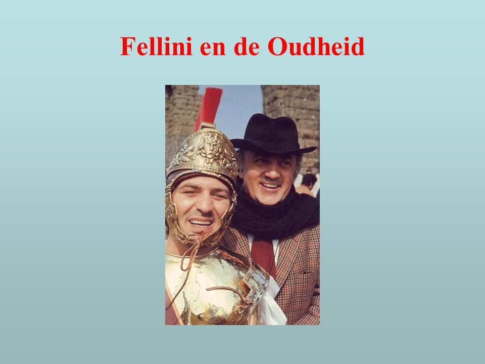 Fellini en de Oudheid
