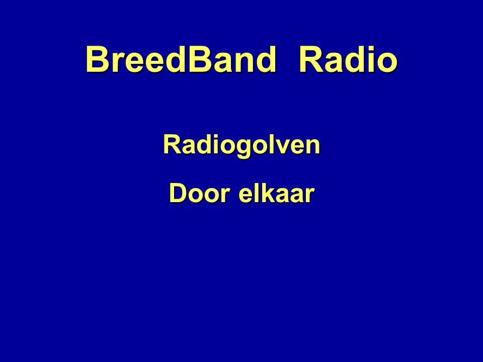 BreedBand Radio Radiogolven Door elkaar