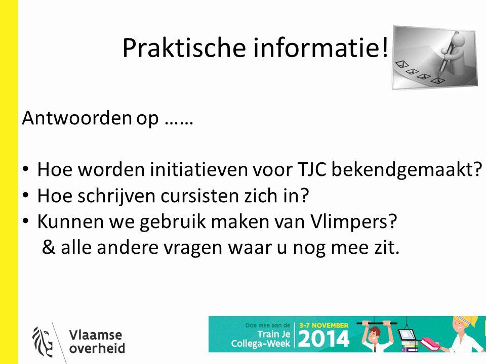 Praktische informatie!