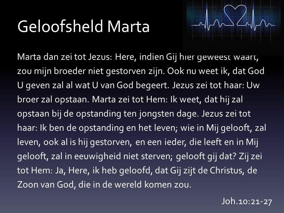 Geloofsheld Marta