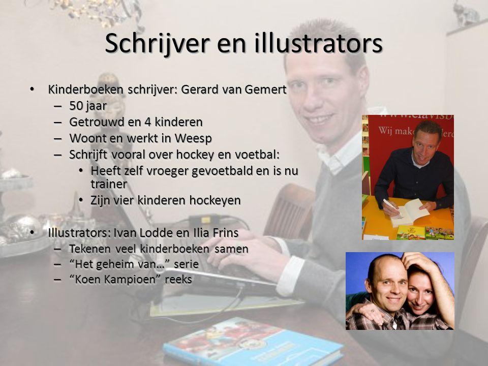 Schrijver en illustrators