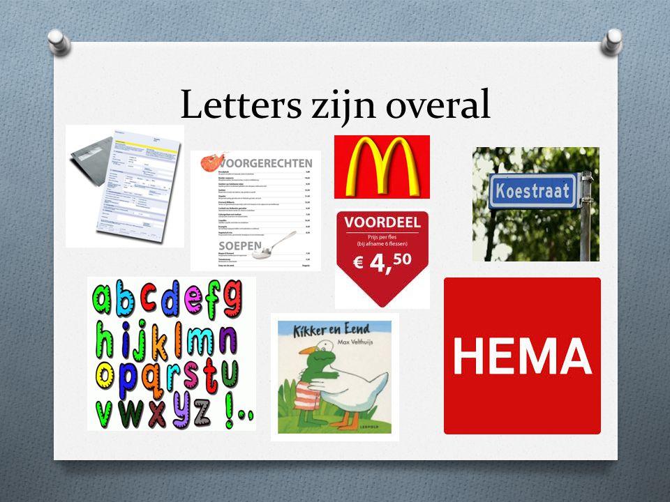 Letters zijn overal