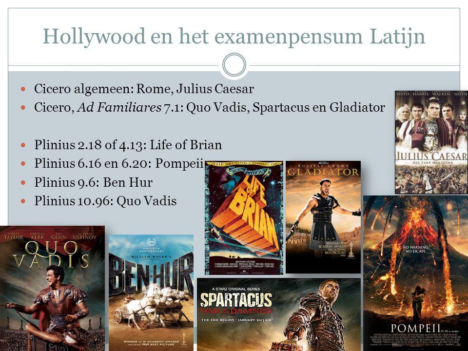 Hollywood en het examenpensum Latijn