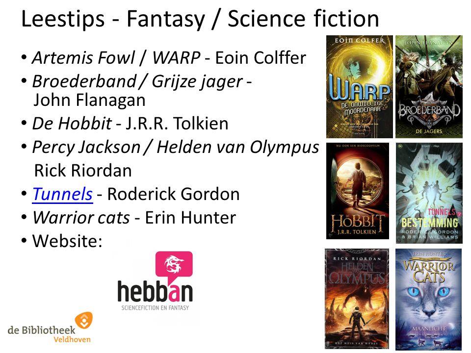 Leestips - Fantasy / Science fiction