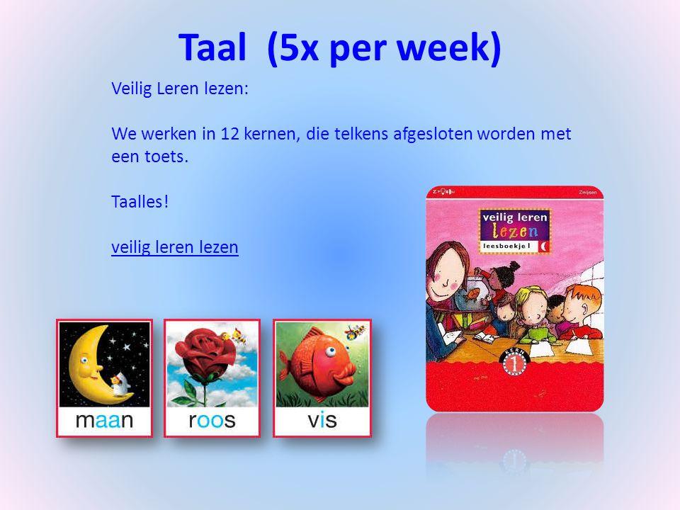 Taal (5x per week) Veilig Leren lezen: