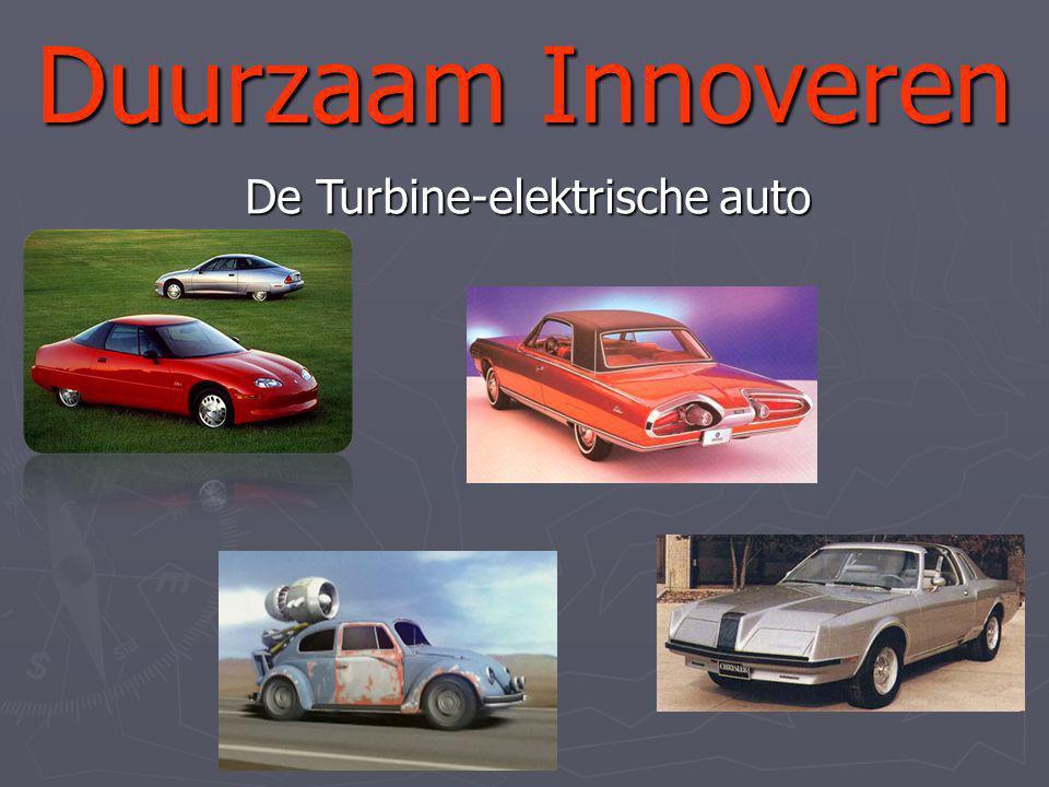 De Turbine-elektrische auto