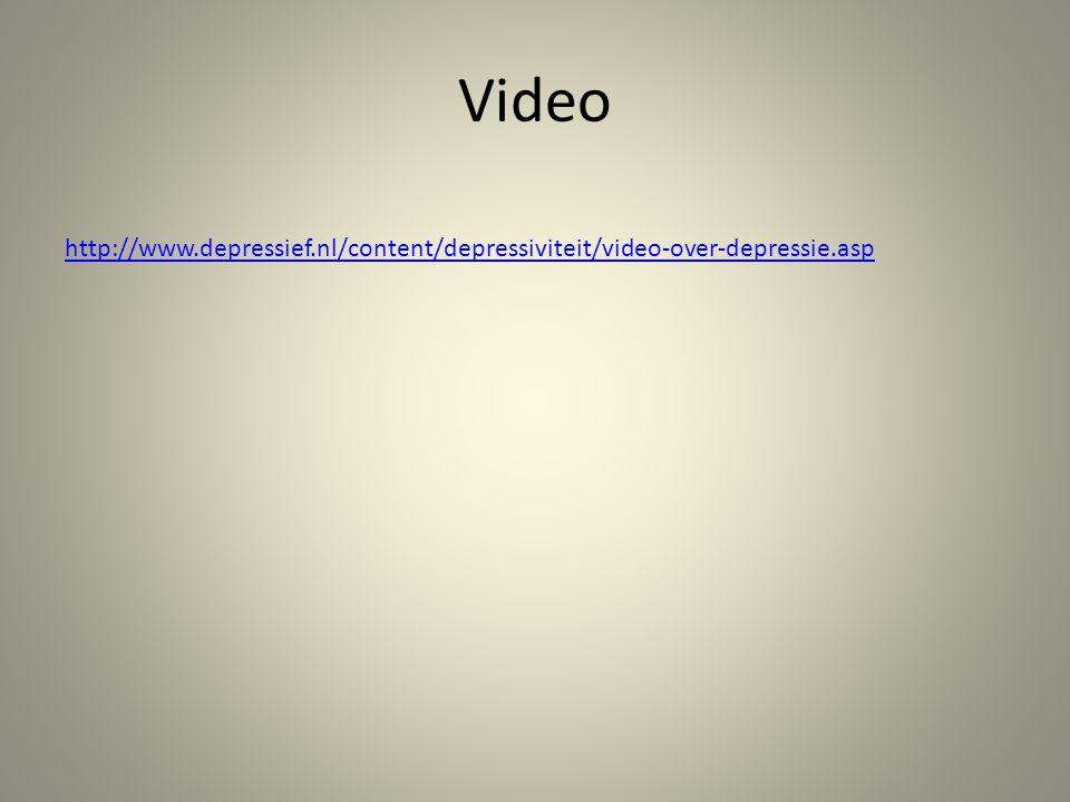 Video http://www.depressief.nl/content/depressiviteit/video-over-depressie.asp