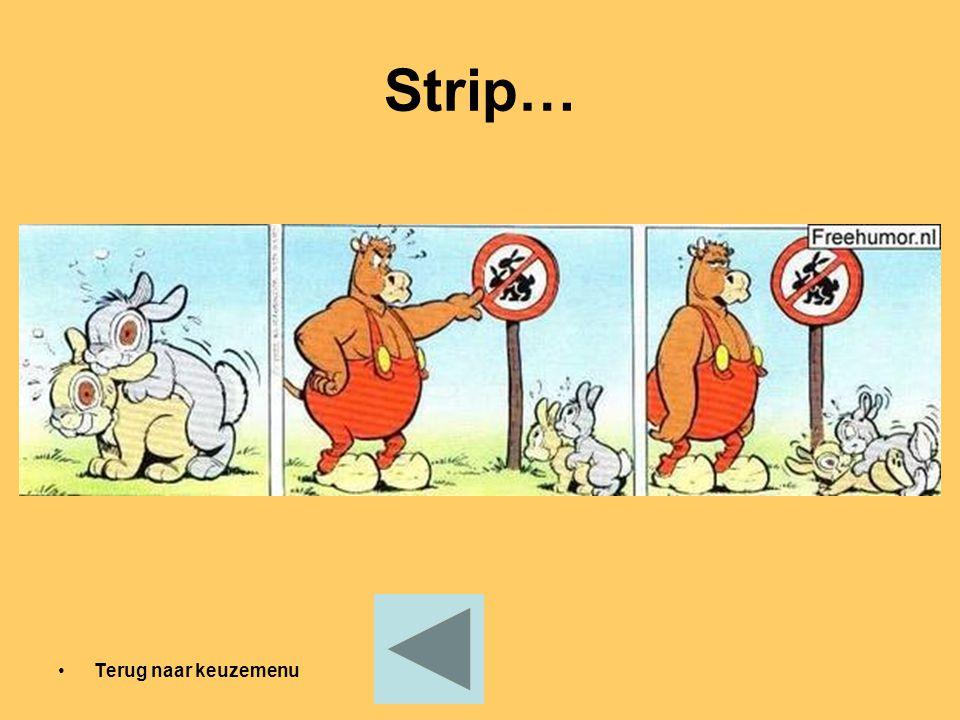 Strip… Terug naar keuzemenu