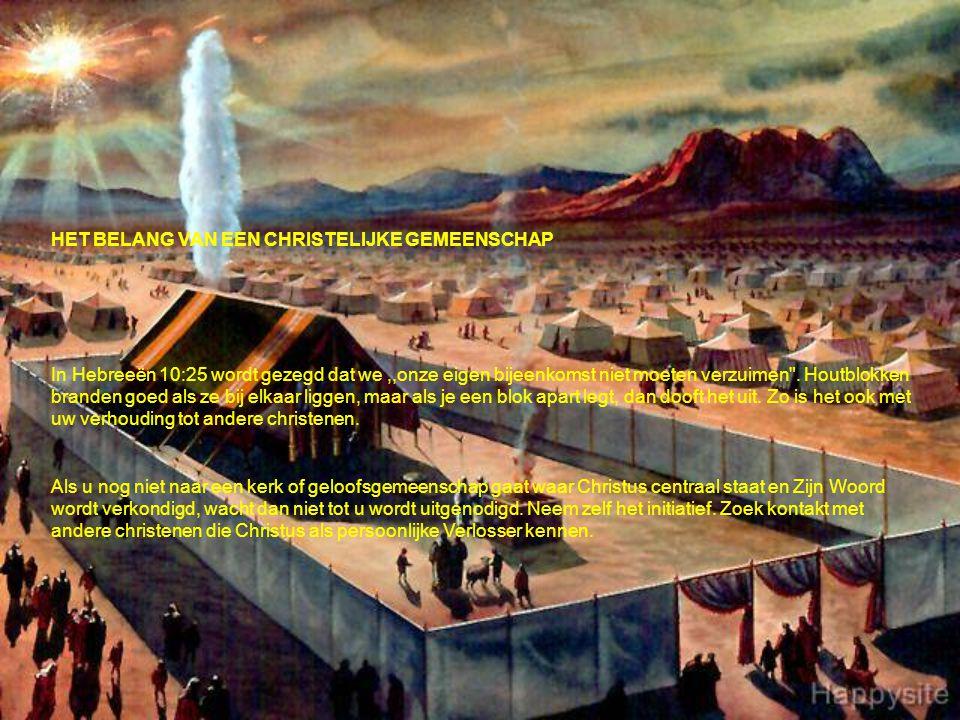 HET BELANG VAN EEN CHRISTELIJKE GEMEENSCHAP