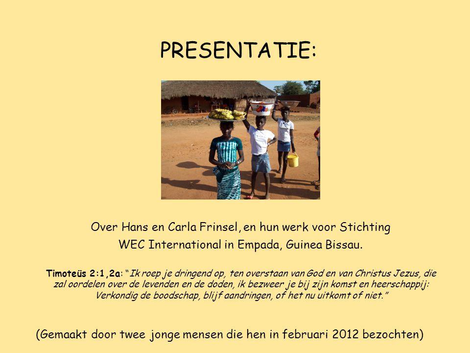 (Gemaakt door twee jonge mensen die hen in februari 2012 bezochten)