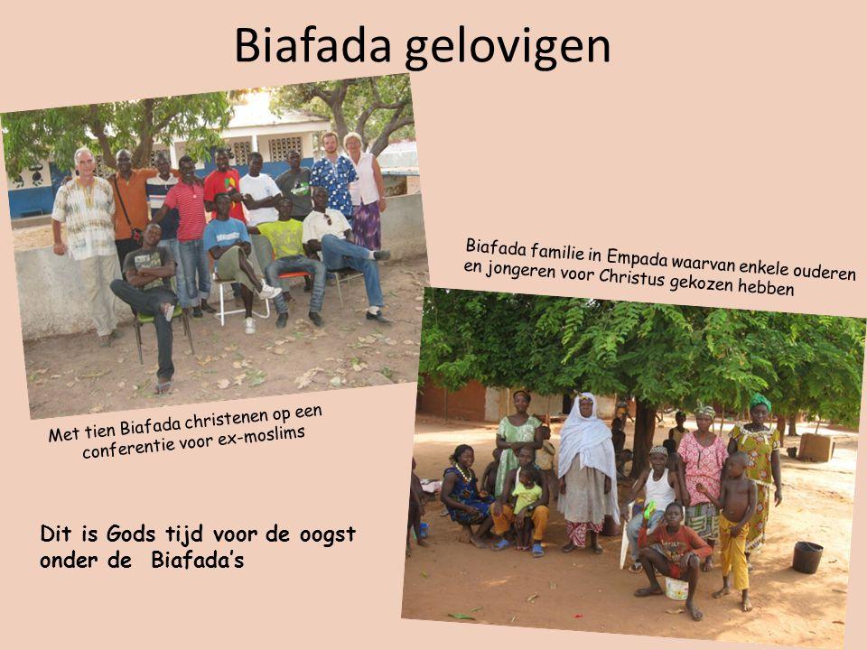 Biafada gelovigen Dit is Gods tijd voor de oogst onder de Biafada's
