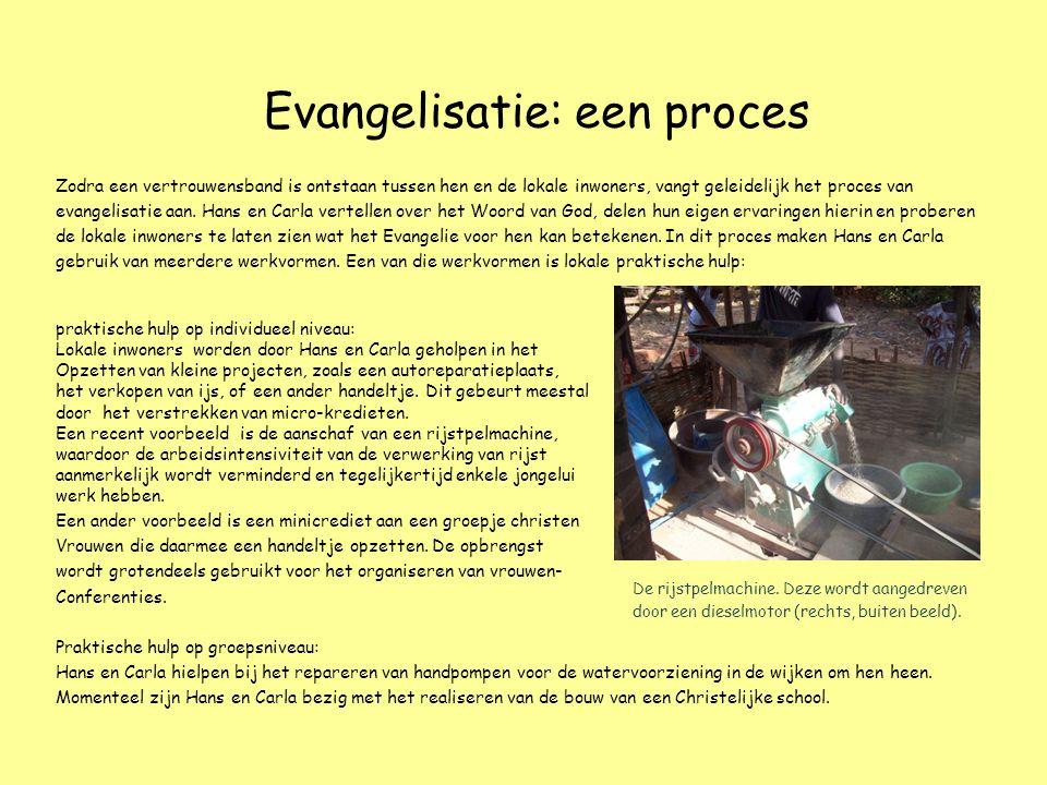 Evangelisatie: een proces