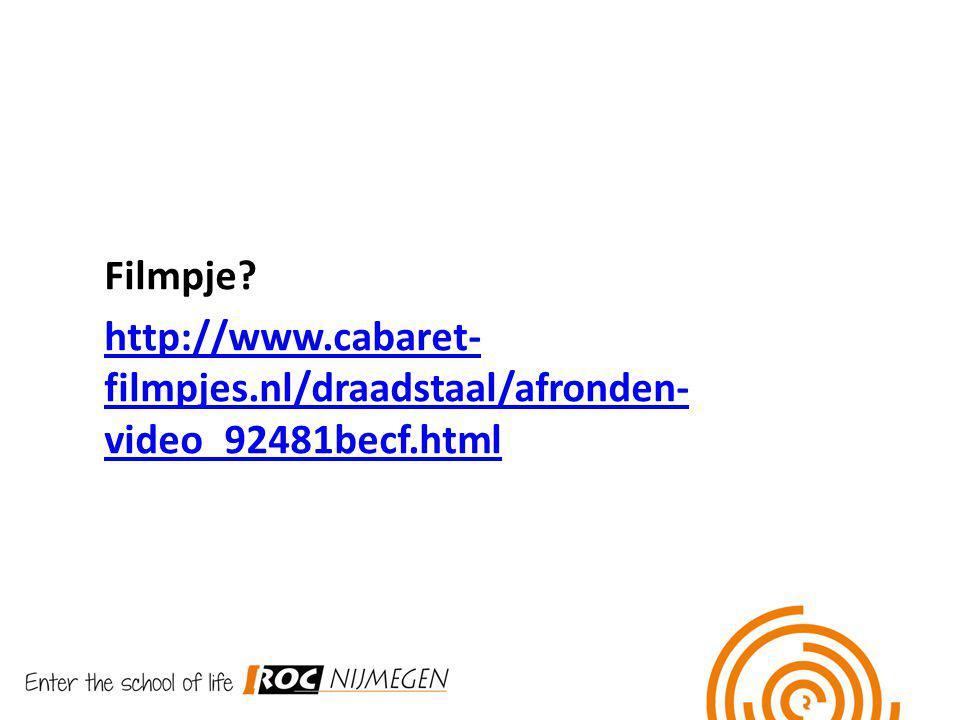 Filmpje http://www.cabaret-filmpjes.nl/draadstaal/afronden-video_92481becf.html