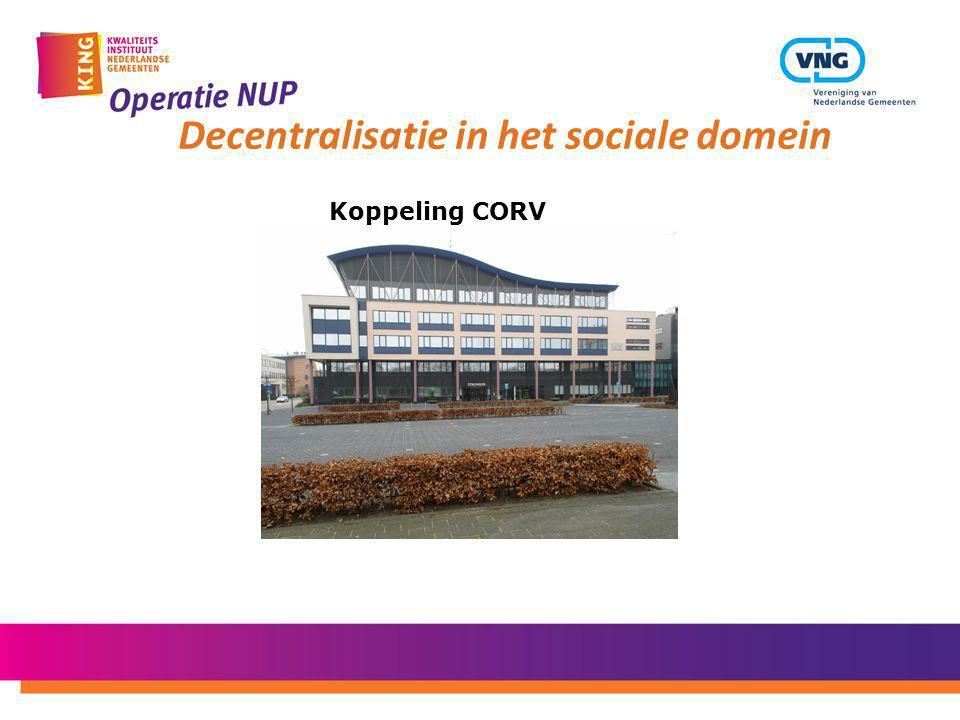 Decentralisatie in het sociale domein